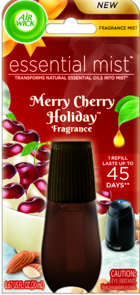 AIR WICK® Essential Mist - Merry Cherry Holiday (Canada)