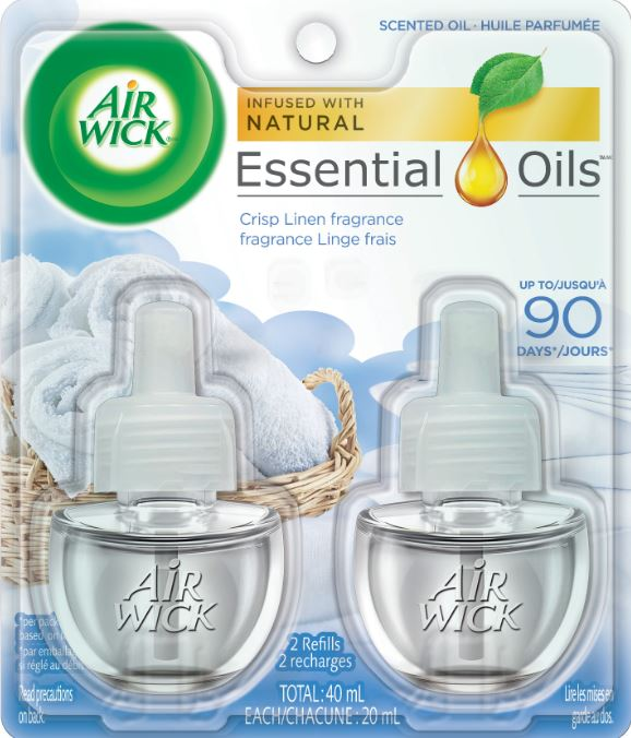 AIR WICK® Scented Oil - Crisp Linen (Canada)