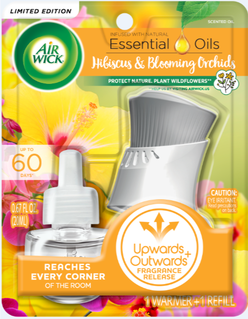 AIR WICK® Scented Oil - Hibiscus & Blooming Orchids - Kit