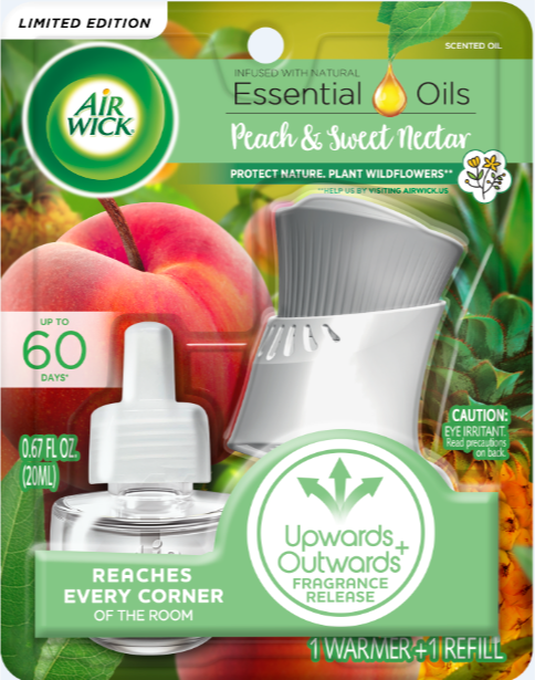 AIR WICK® Scented Oil - Peach & Sweet Nectar - Kit