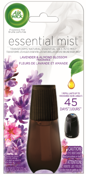 AIR WICK® Essential Mist - Lavender & Almond Blossom (Canada)