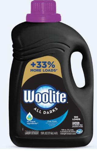 WOOLITE® All Darks Laundry Detergent - Midnight Breeze Scent (Club Size)