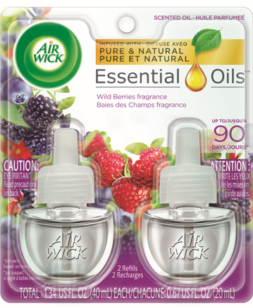 AIR WICK® Scented Oil - Wild Berries