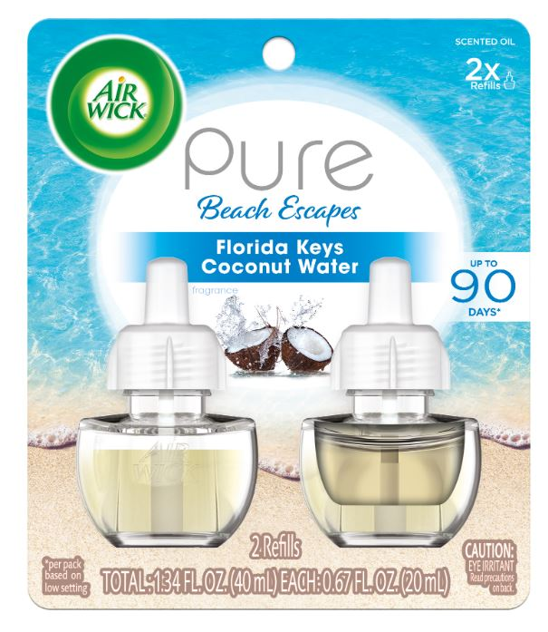 AIR WICK® Scented Oil - Pure Beach Escapes Florida Keys Coconut Water