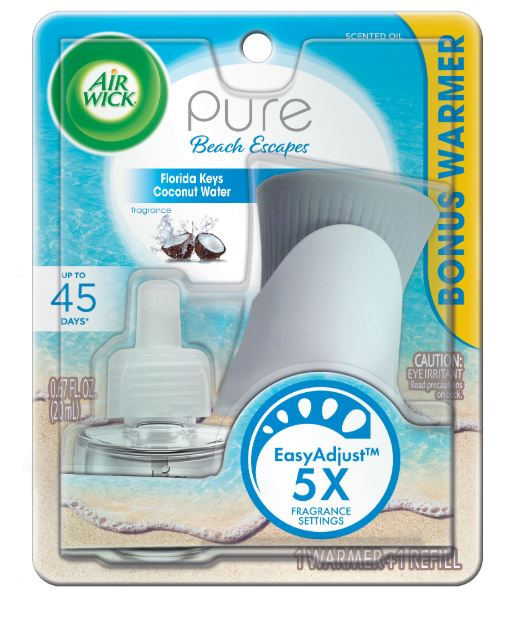 AIR WICK® Scented Oil Starter Kit - Pure Beach Escapes Florida Keys Coconut Water