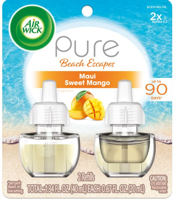 AIR WICK® Scented Oil - Pure Beach Escapes Maui Sweet Mango