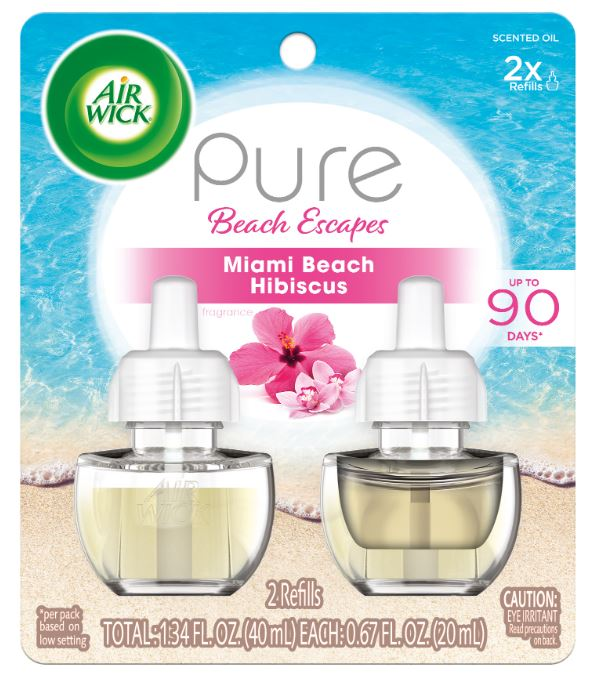 AIR WICK® Scented Oil - Pure Beach Escapes Miami Beach Hibiscus