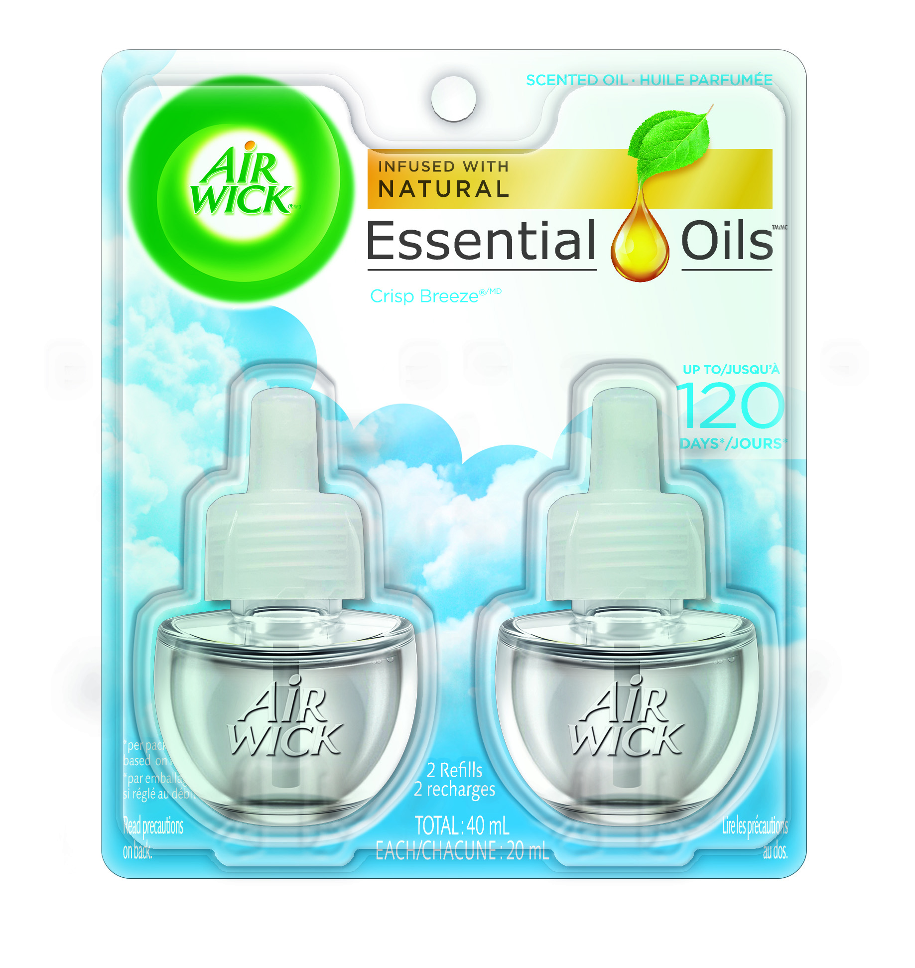 AIR WICK® Scented Oil - Crisp Breeze (Canada)