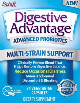 DIGESTIVE ADVANTAGE® Advanced Probiotics Multi-strain Support - Capsule