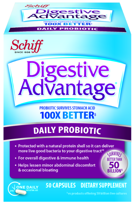 DIGESTIVE ADVANTAGE® Daily Probiotic Capsules