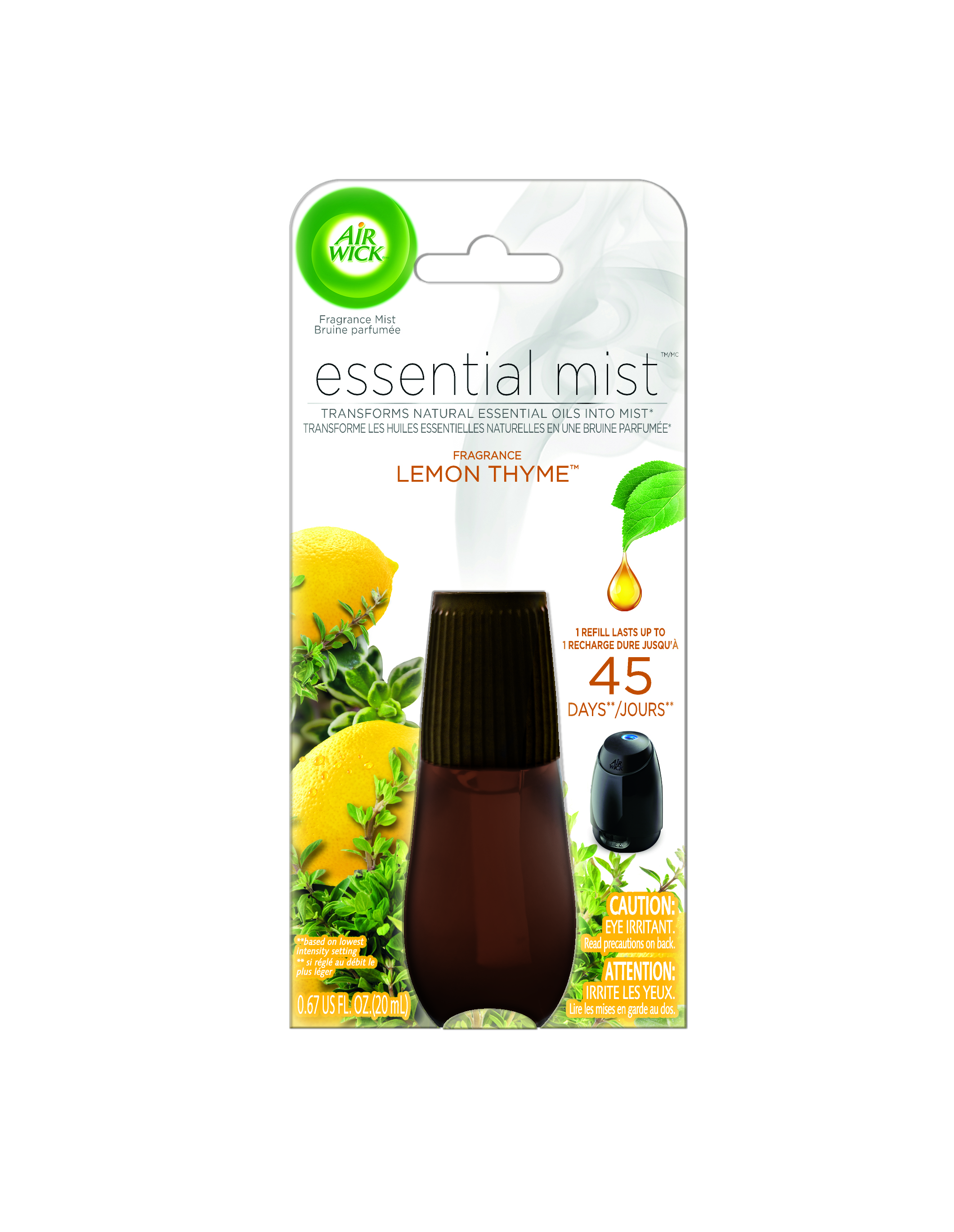 AIR WICK® Essential Mist - Lemon Thyme (Canada)