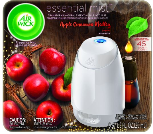 AIR WICK® Essential Mist - Apple Cinnamon Medley - Kit (Canada)