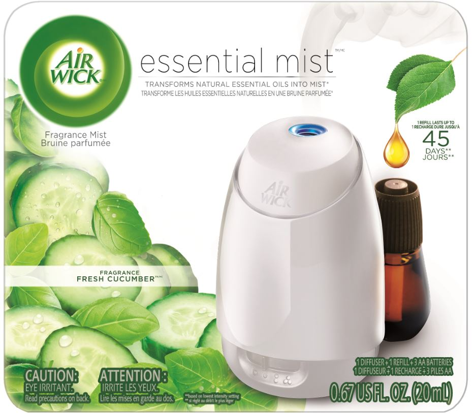 AIR WICK® Essential Mist - Fresh Cucumber - Kit (Canada)