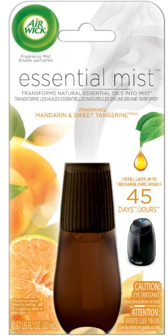 AIR WICK Essential Mist  Mandarin  Sweet Tangerine Canada Photo