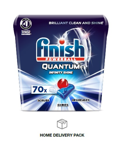 FINISH® Powerball® Quantum® Tabs Infinity Shine™