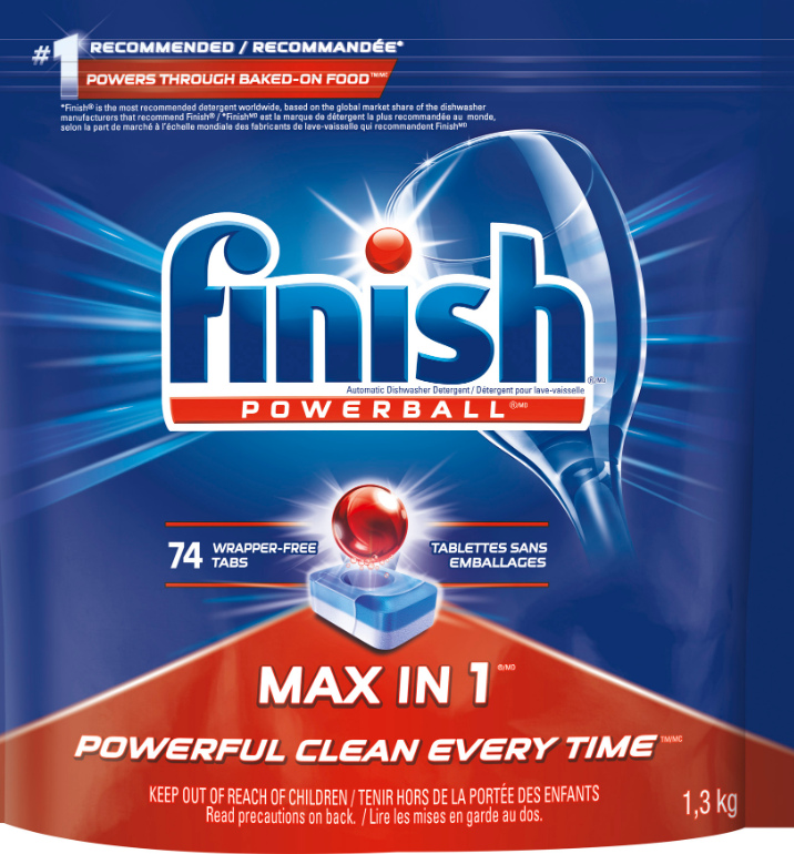 FINISH Powerball Max in 1 Tab Canada Photo