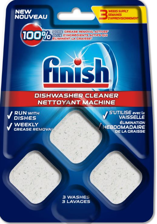 FINISH® Dishwasher Cleaner - Tablets (Canada)