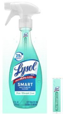 LYSOL Smart MultiPurpose Cleaner  Fresh Waterfall Photo