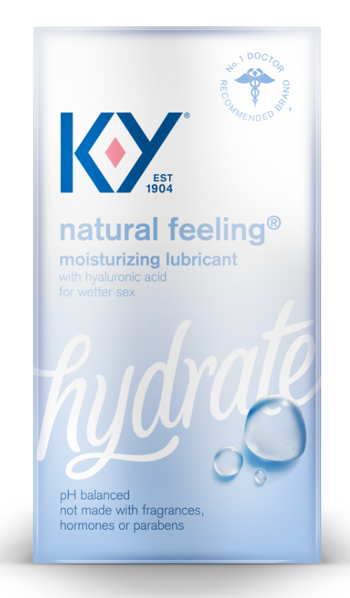 K-Y® Natural Feeling with Hyaluronic Acid