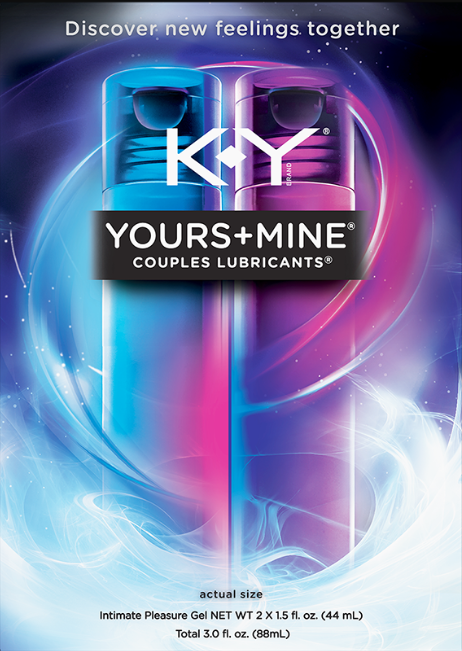 K-Y® Yours + Mine Couples Lubricants® - His