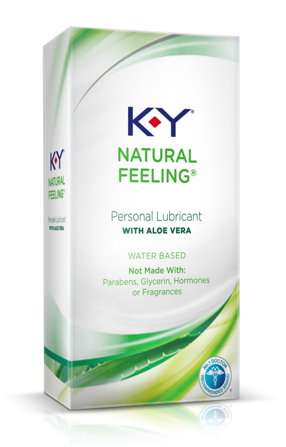 K-Y® Natural Feeling Lubricant with Aloe Vera