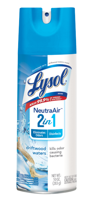 LYSOL® Disinfectant Spray - 2 in 1 - Driftwood Waters