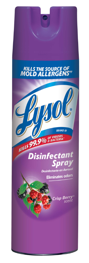 LYSOL Disinfectant Spray  Crisp Berry Photo