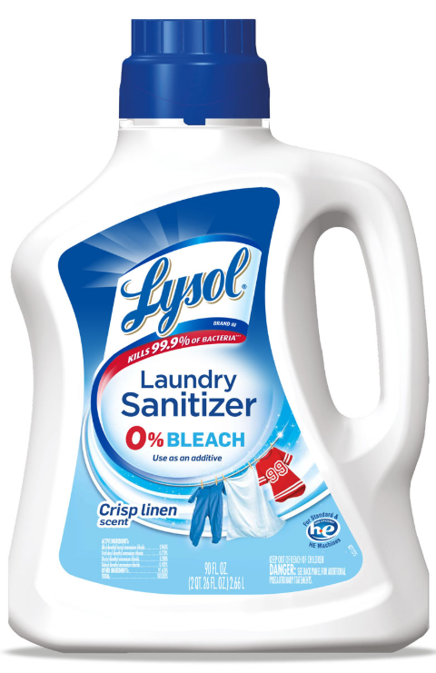 LYSOL Laundry Sanitizer  Crisp Linen Scent Photo