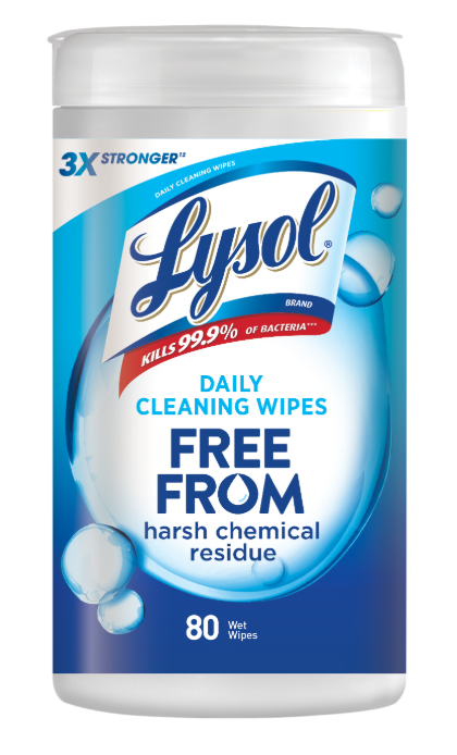 LYSOL Daily Cleaning Wipes Photo