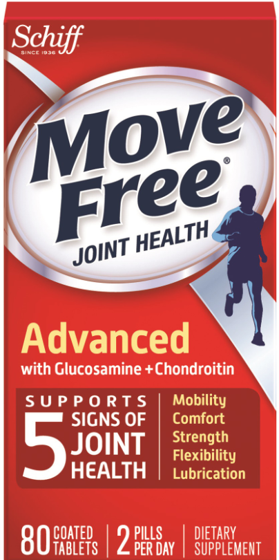 MOVE FREE® Advanced with Glucosamine + Chondroitin Tablets