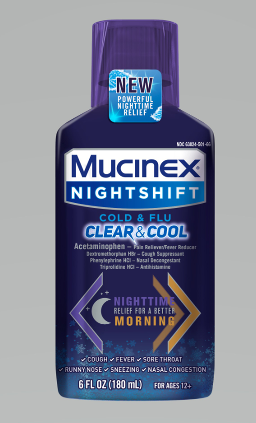 MUCINEX® NIGHTSHIFT - SINUS Clear & Cool