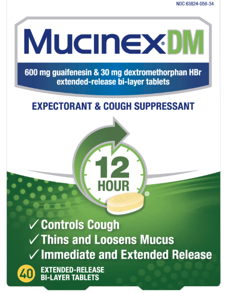 MUCINEX®  DM - Extended Release Bi-Layer Tablets
