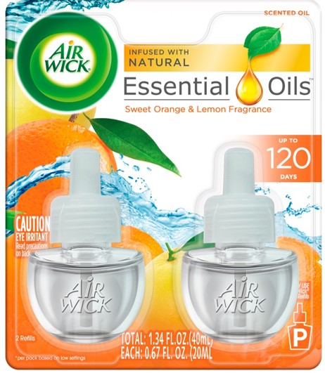 AIR WICK® Scented Oil - Sweet Orange & Lemon