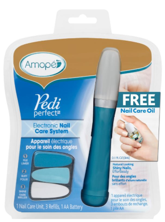 AMOPE® Pedi Perfect™ Electronic Nail Care System (Canada)