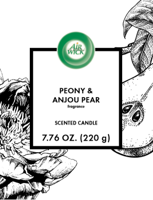 AIR WICK® Candle - Peony & Anjou Pear