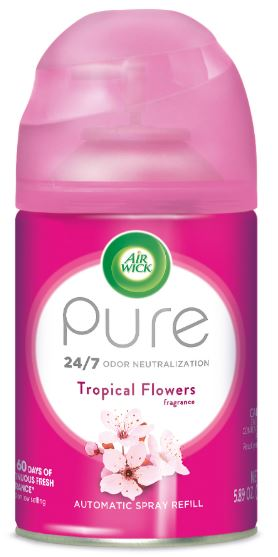 Air Wick Automatic Spray - Pure Tropical Flowers 5.89 oz
