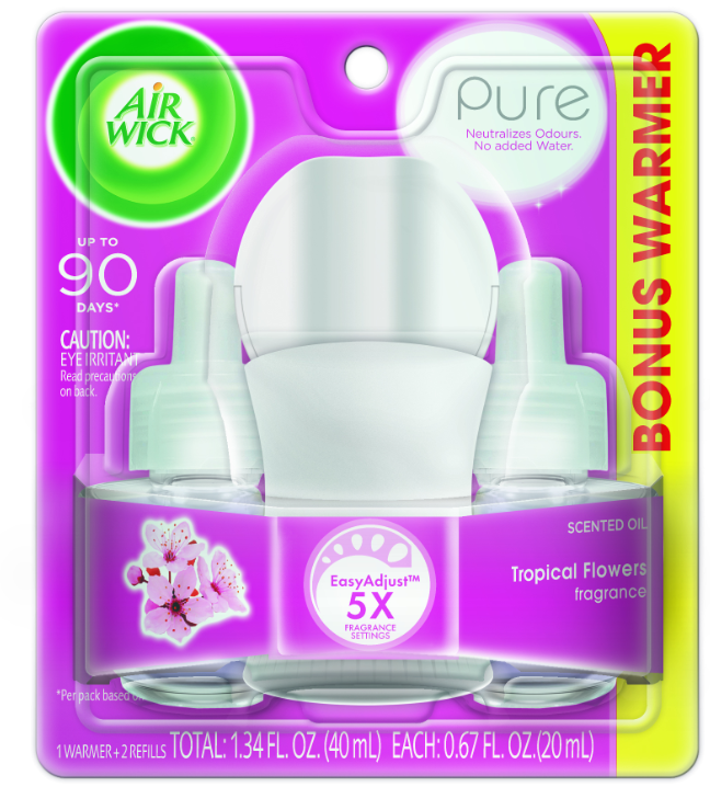 Air Wick® Scented Oil Starter Kit - Pure Tropical Flowers