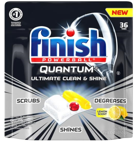 FINISH® Powerball® Quantum® Tabs - Lemon Scent