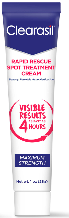 CLEARASIL® Rapid Rescue Spot Treatment Cream