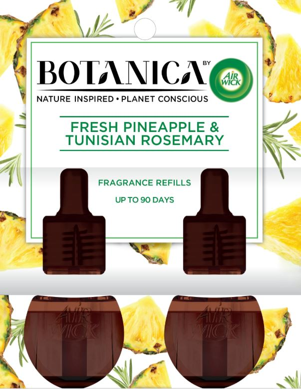 AIR WICK® Botanica Scented Oils - Fresh Pineapple & Tunisian Rosemary