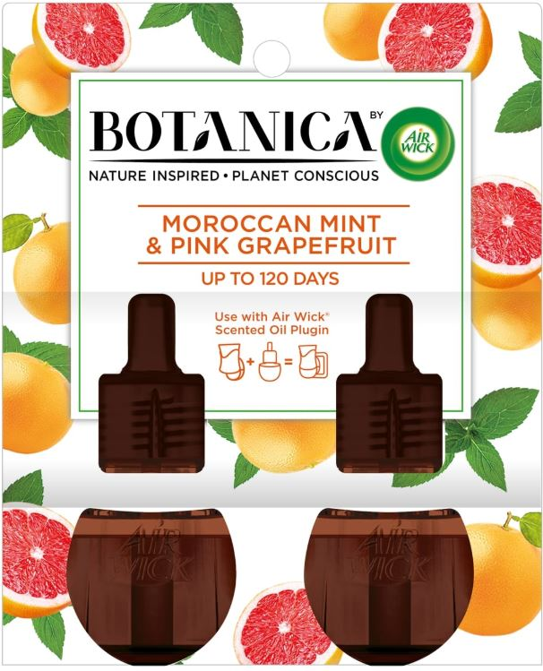AIR WICK® Botanica Scented Oils - Pink Grapefruit & Moroccan Mint