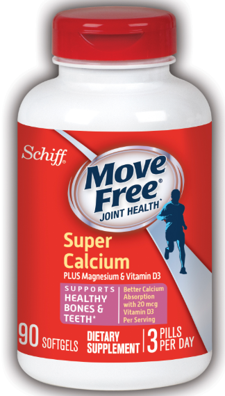 MOVE FREE Super Calcium  Plus Magnesium  Vitamin D3 Photo