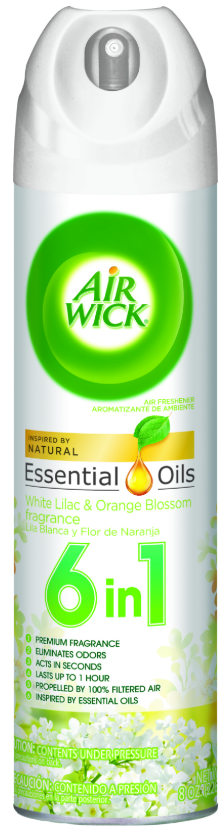 AIR WICK® 4 in 1 Air Freshener - White Lilac & Orange Blossom