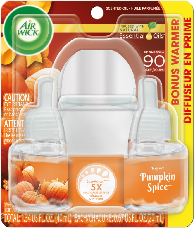 AIR WICK® Scented Oil - Pumpkin Spice (Spread The Joy™) (Canada)