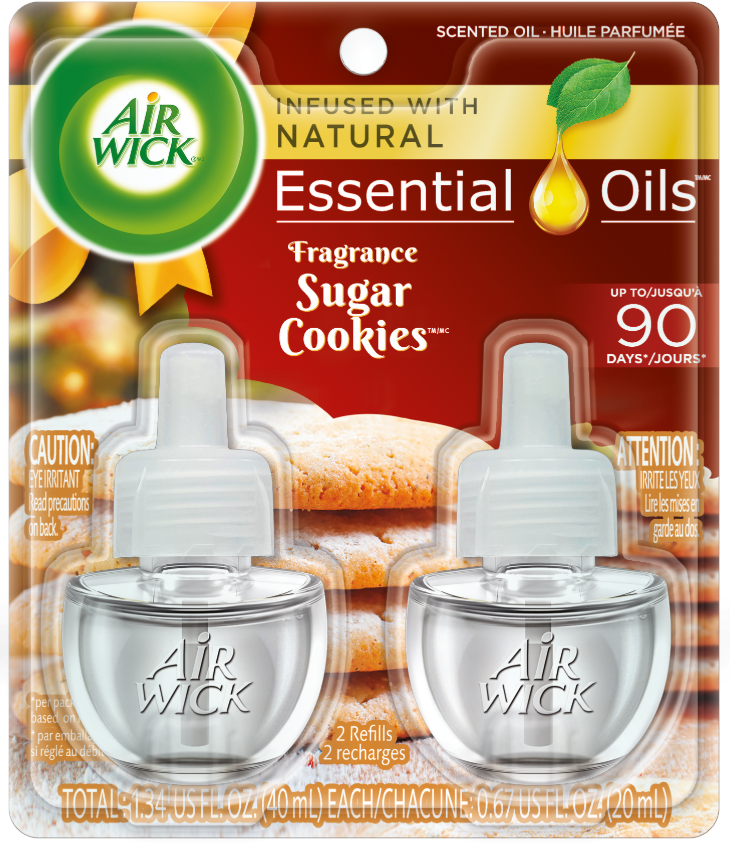 AIR WICK® Scented Oil - Sugar Cookies (Spread The Joy™)