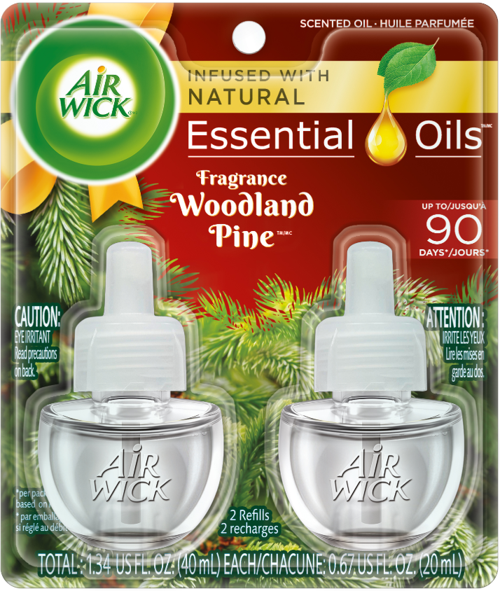 AIR WICK® Scented Oil - Woodland Pine (Spread The Joy™)