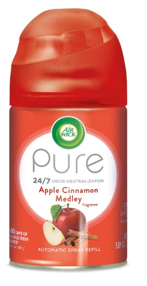 Air Wick Automatic Spray - Pure Apple Cinnamon Medley 5.89 oz