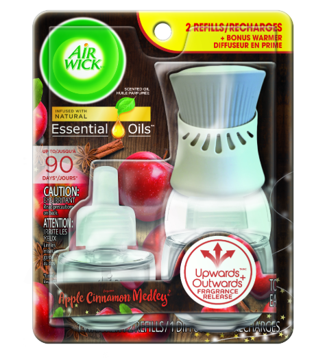 AIR WICK® Scented Oil Starter Kit - Apple Cinnamon Medley