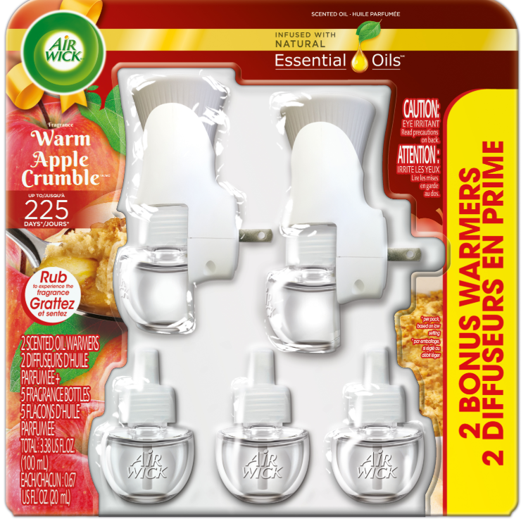 AIR WICK® Scented Oil - Warm Apple Crumble - Kit (Dollar General)