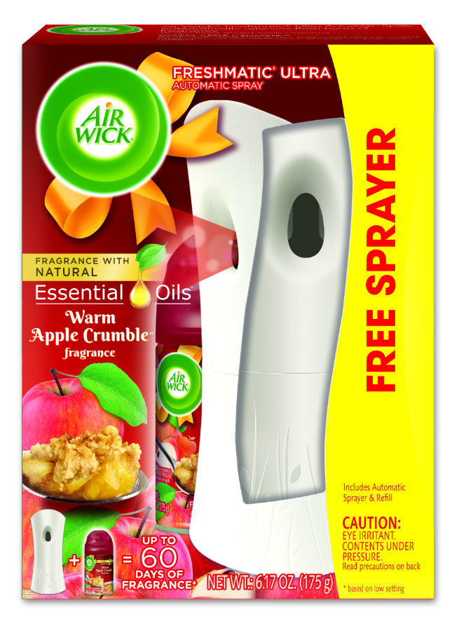 AIR WICK® FRESHMATIC Ultra Starter Kit - Warm Apple Crumble (Spread The Joy™)